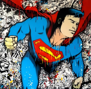 superman - crey 132 - street-art - Collectif AVC