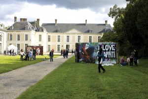 street-art session au château