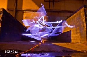 calligraphy - light-painting